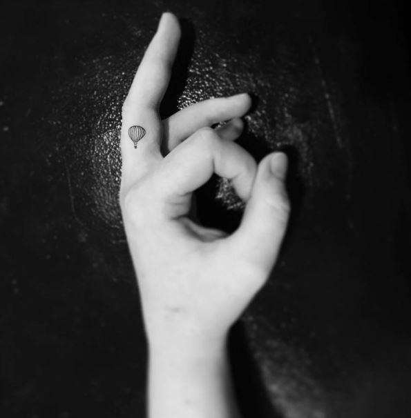 Small Finger Tattoos 1