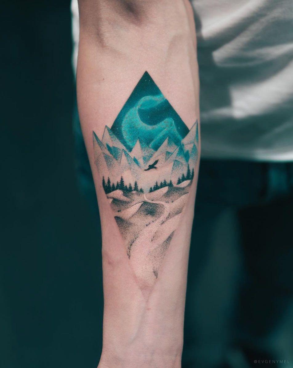Small Sacred Geometry Tattoo (1)