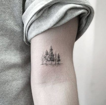 Small Sacred Geometry Tattoo (2)