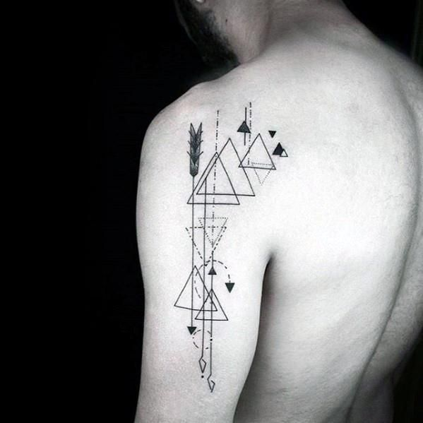 Small Sacred Geometry Tattoo (4)