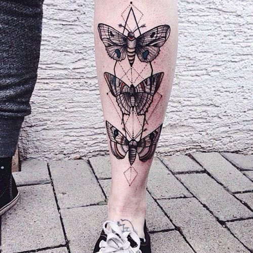 Small Sacred Geometry Tattoo (5)