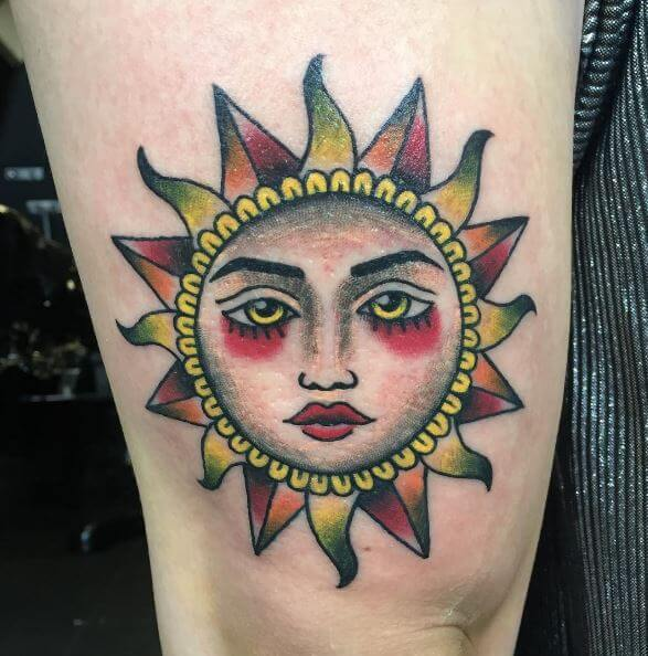 Sun And Tattoos
