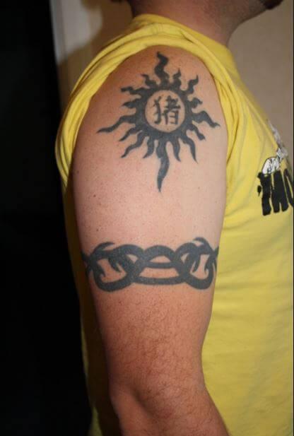 Sun Goddess Tattoos