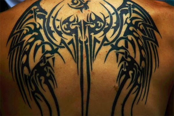 Tribal Cross Tatoo Designs (6)