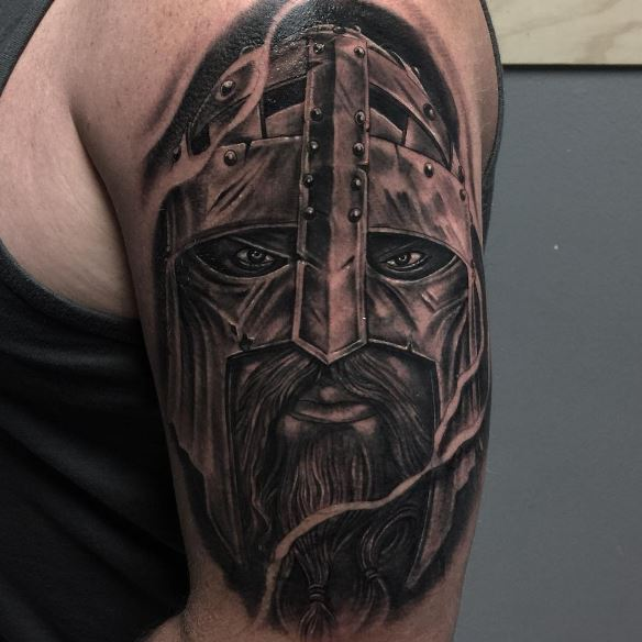 Viking Face Tattoos