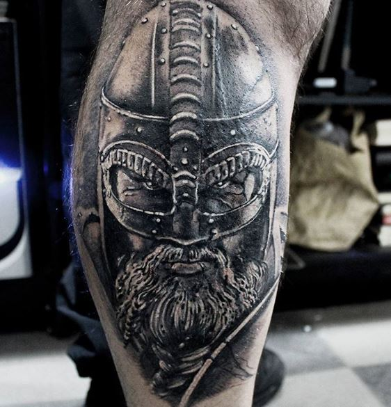 Viking Head Tattoos