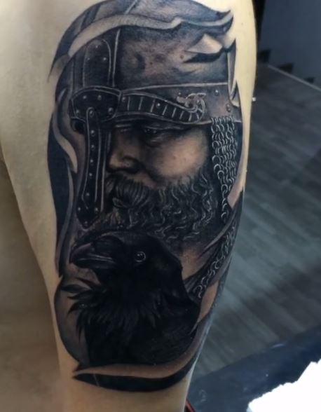 Viking Leg Tattoos