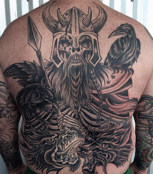 Viking Skulls Tattoos