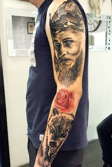 Viking Tattoos Sleeves
