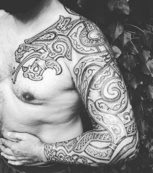 Viking Tribal Tattoos