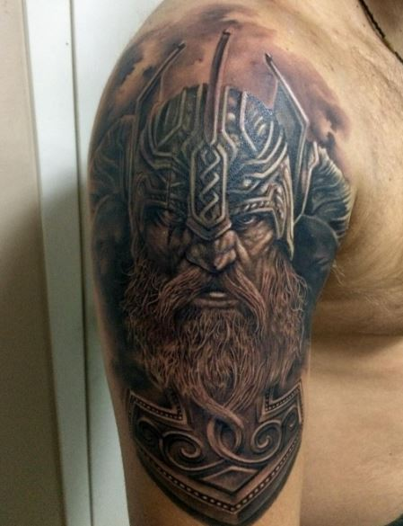Viking Warriors Tattoos