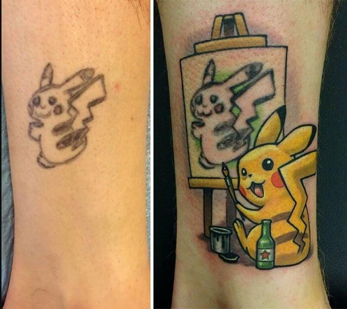 Worst Tattoos Before And After