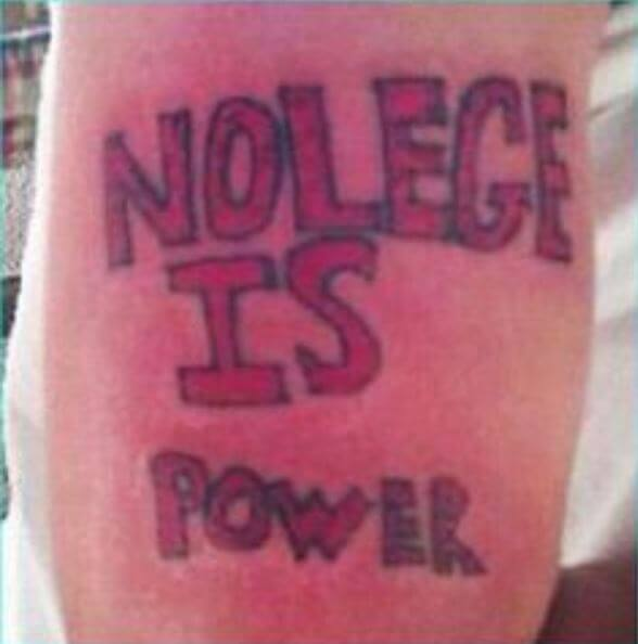 Worst Tattoos Ever