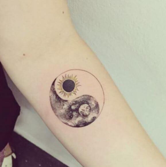 Yin Yang Tattoos Designs