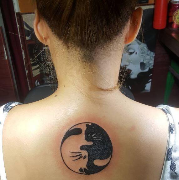 Yin Yang Tattoos For Women