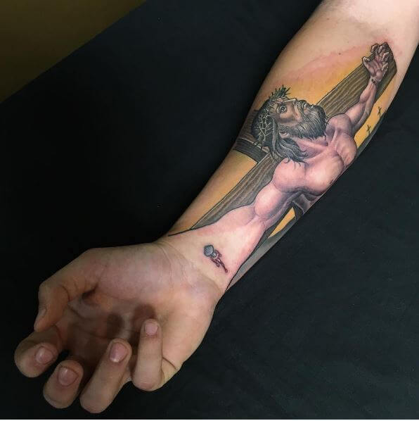 Amazing 3D Jesus Christ Tattoos Design And Ideas