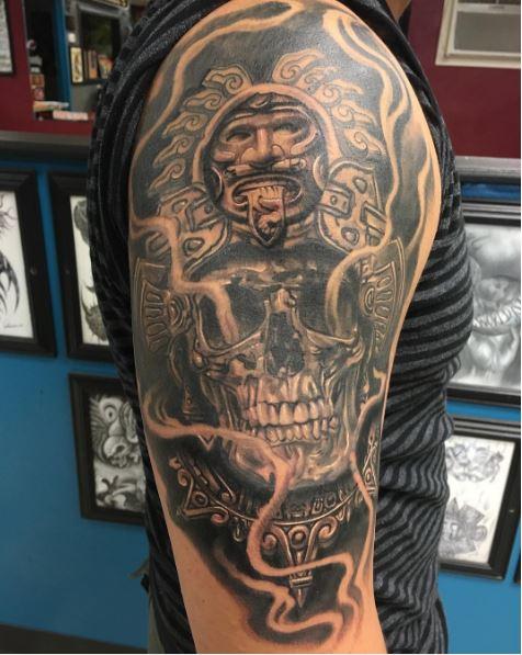 Amazing Aztec Tattoos Design And Ideas For Men