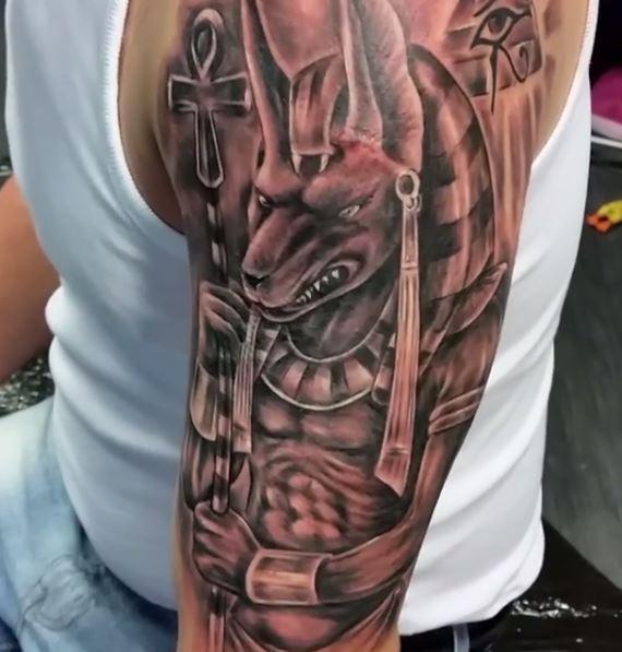 Anubis Tattoo 14