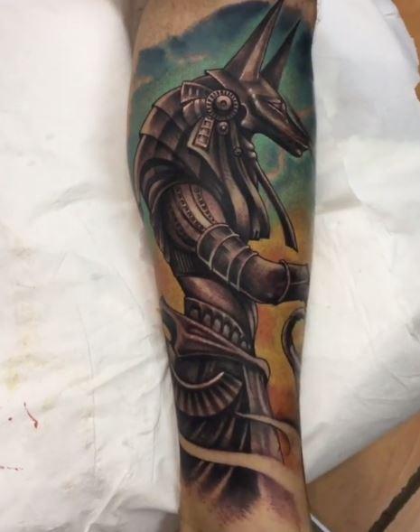 Anubis Tattoo 16