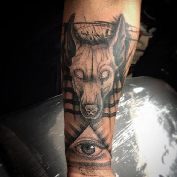 Anubis Tattoo 27