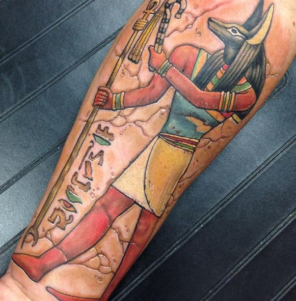 Anubis Tattoo 28