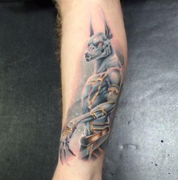 Anubis Tattoo 29