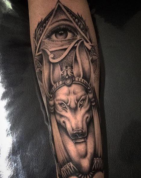 Anubis Tattoo 31