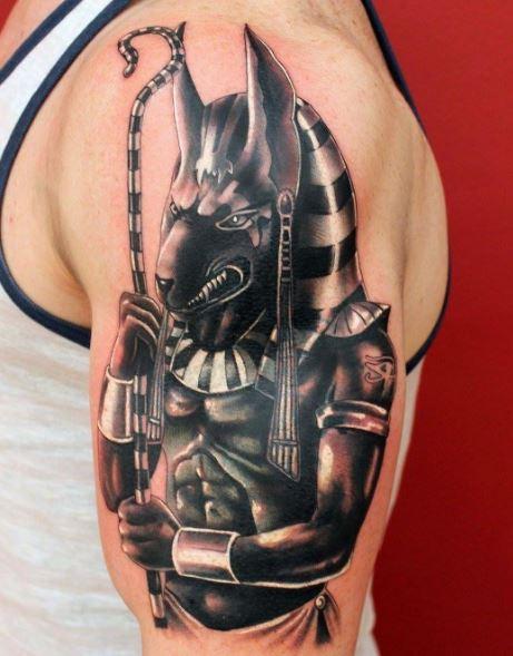 Anubis Tattoo 33