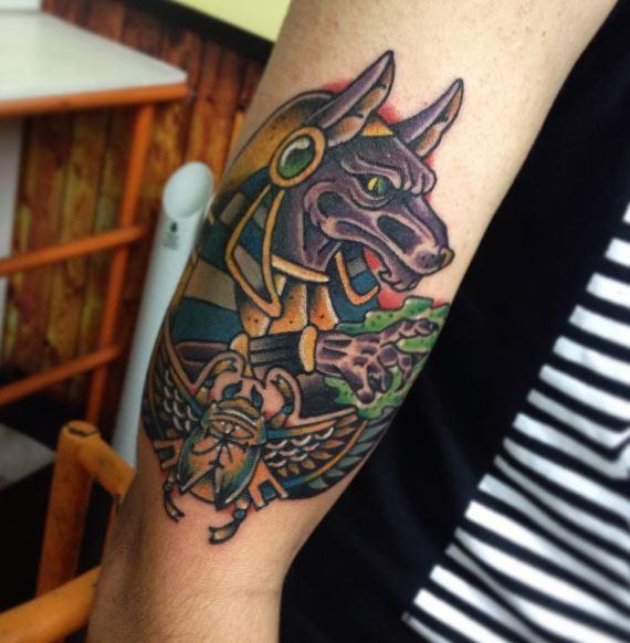 Anubis Tattoo 38