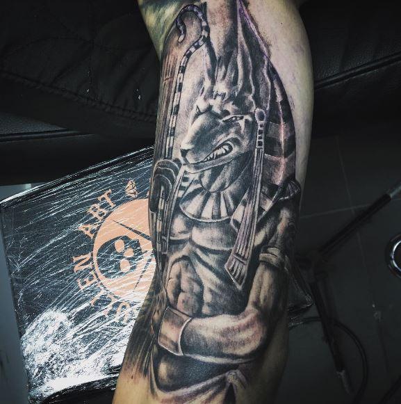 Anubis Tattoo 39