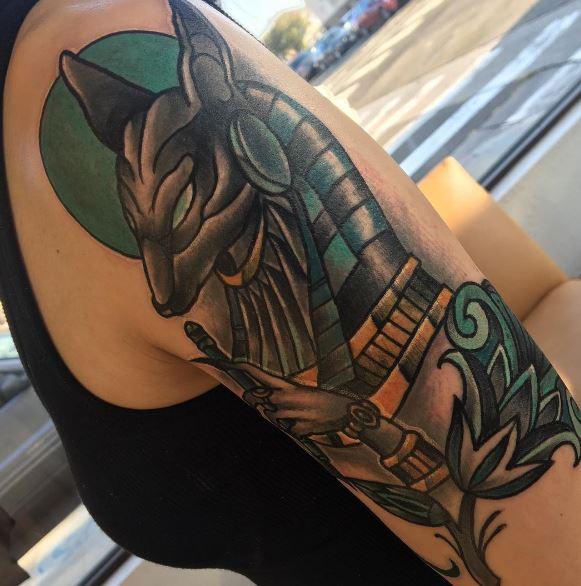 Anubis Tattoo 40