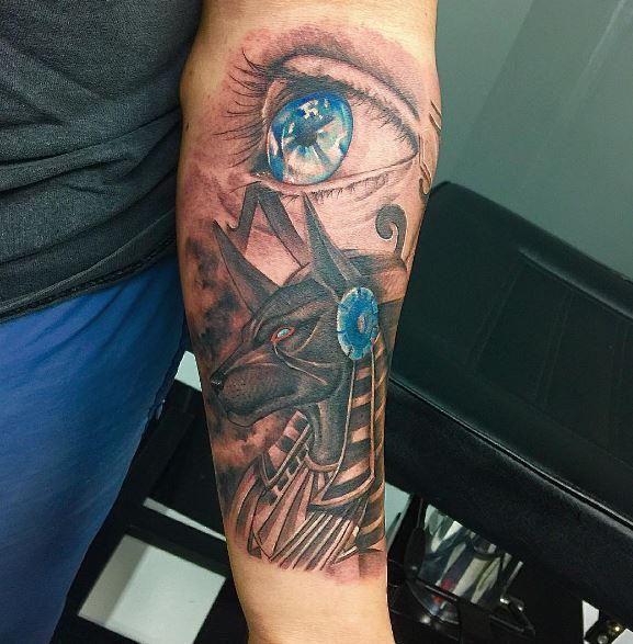 Anubis Tattoo 42