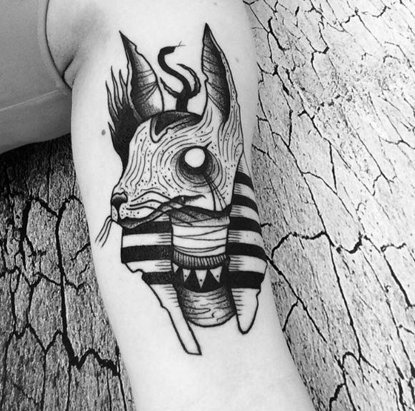 Anubis Tattoo 51