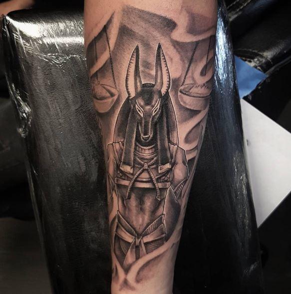 Anubis Tattoo 52