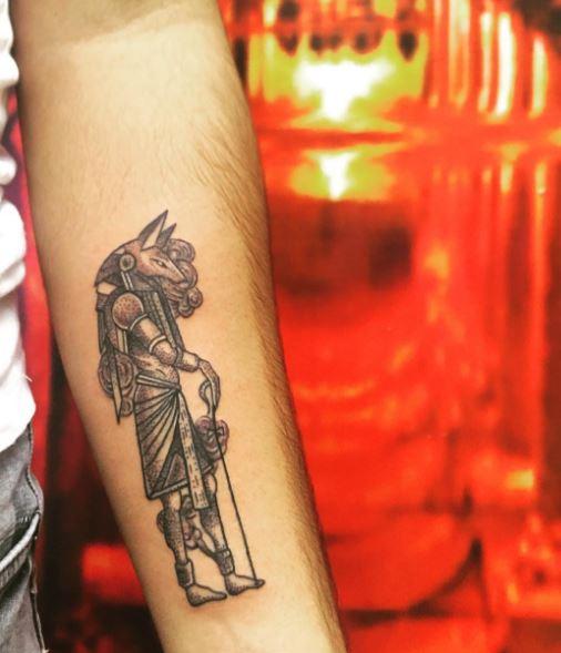 Anubis Tattoo 8