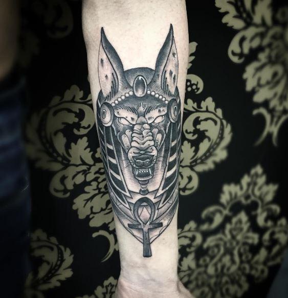 Anubis Tattoo 9