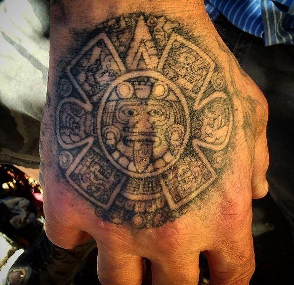 Aztec Tattoos Design On Arm