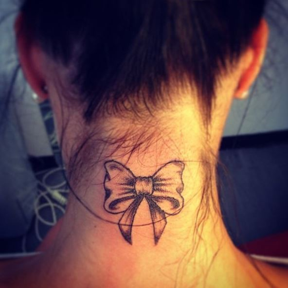 Back Neck Tattoos For Women
