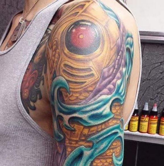 Bio Mechanical Tattoo 3