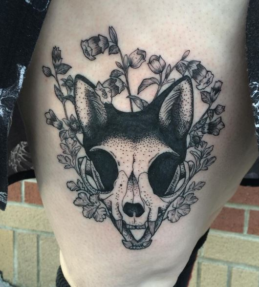 Black Work Tattoo 1