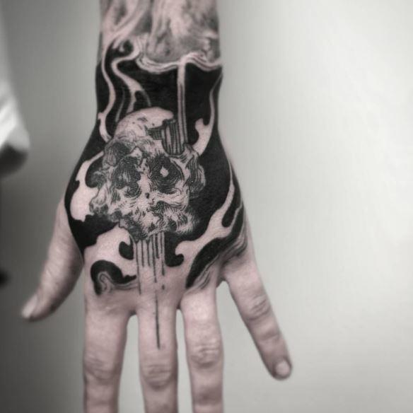Black Work Tattoo 3