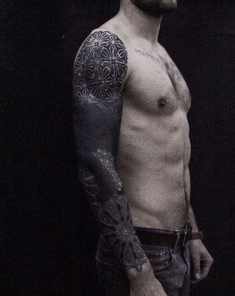 Black Work Tattoo 4