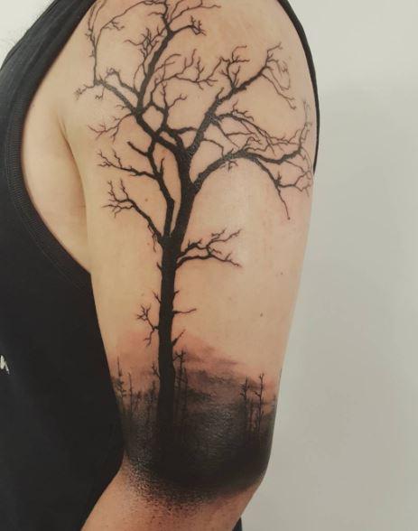Black Work Tattoo 5