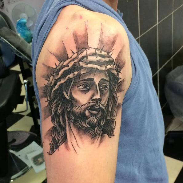 Brilliant Jesus Christ Tattoos Design And Ideas
