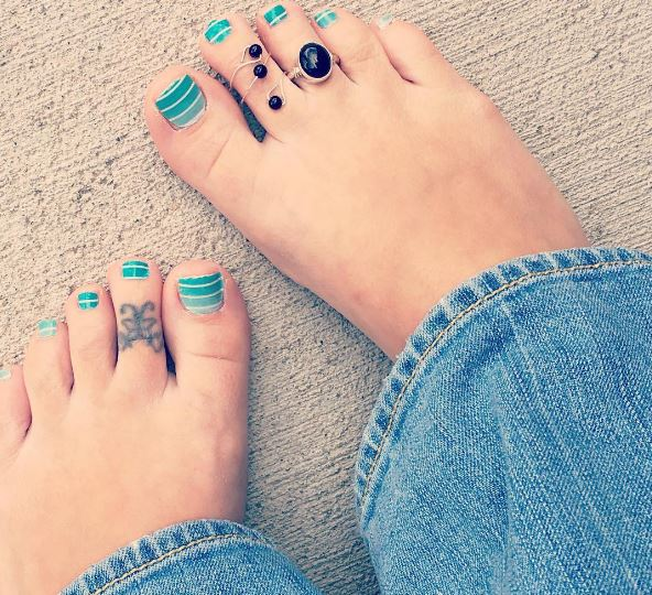 Butterfly Toe Tattoos Design And Ideas