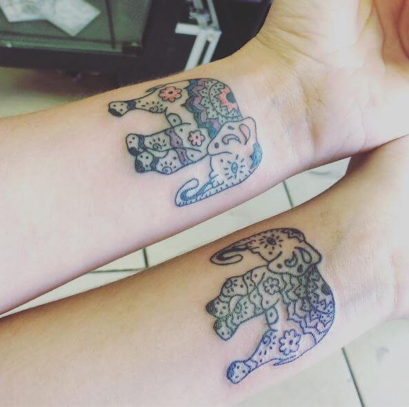Cute Sibling Tattoos Design And Ideas