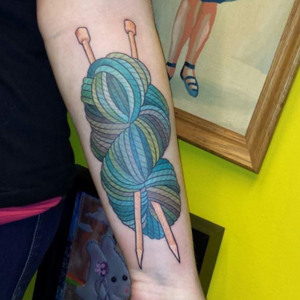 Delightful Knitting Tattoos
