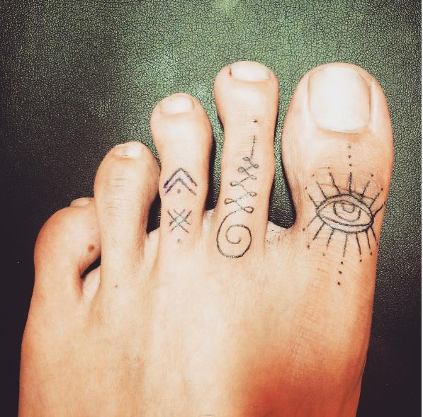 Eye Toe Tattoos Design And Ideas
