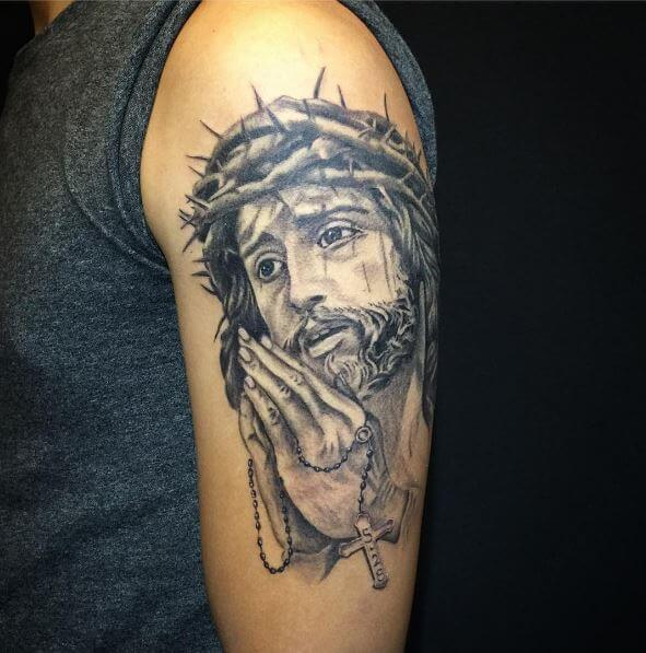 Fabulous Jesus Tattoos Design And Ideas