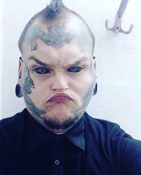Face Tattoo 13